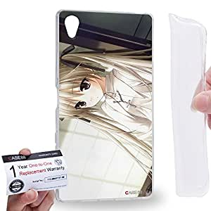 Case88 [Sony Xperia Z5 Premium] Gel TPU Carcasa/Funda & Tarjeta de garantía - Yosuga no Sora Sora Kasugano Haruka Kasugano 1447