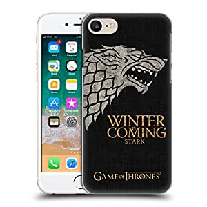 Official HBO Game of Thrones Stark House Mottos Hard Back Case for iPhone 7 / iPhone 8
