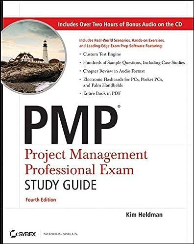 pmp project management professional exam study guide kim heldman rh amazon com kim heldman pmp study guide 8th edition pdf kim heldman pmp study guide pdf torrent
