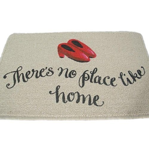 Place Like Home Wizard - High Cotton Inc. There's No Place Like Home Doormat