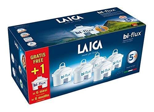 LAICA Bi-Flux filterpatronen + 1 verpakking, patronen voor alle Laica-waterfilters
