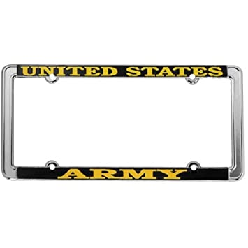 us army license plate frame thin rim