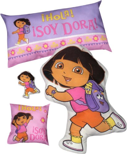 Daisy Kingdom Easy Cut and Sew Stitch 'N Stuff Kit, Dora The Explorer by Springs Creative Products
