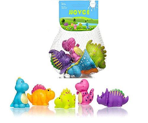 목욕 수영장 장난감 떠있는 다채로운 공룡 5 개 세트