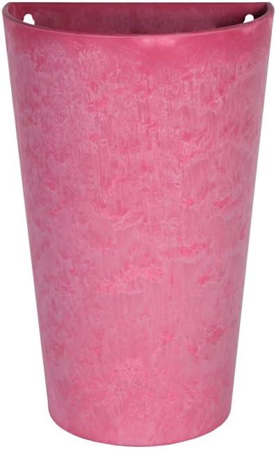 24x16x18cm Artstone Pot de Fleurs r/ésistant au Gel et ultral/éger Suspension Murale Claire Terra