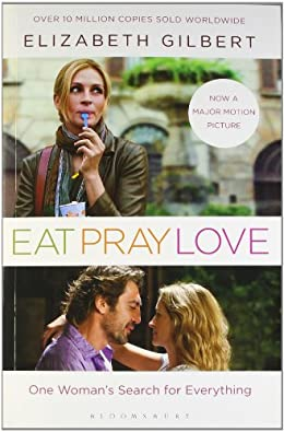 Eat, Pray, Love- best self-help books for women