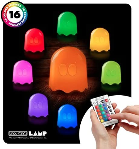 Pac-Man Ghost Lamp - Colour Changes