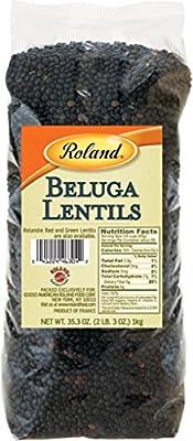 Roland Lentils, Beluga, 35.3 Ounce