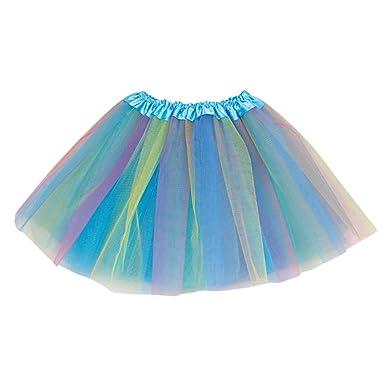 Falda de tutú de Tul de Tul con Lunares para niñas, de Winkey A# ...