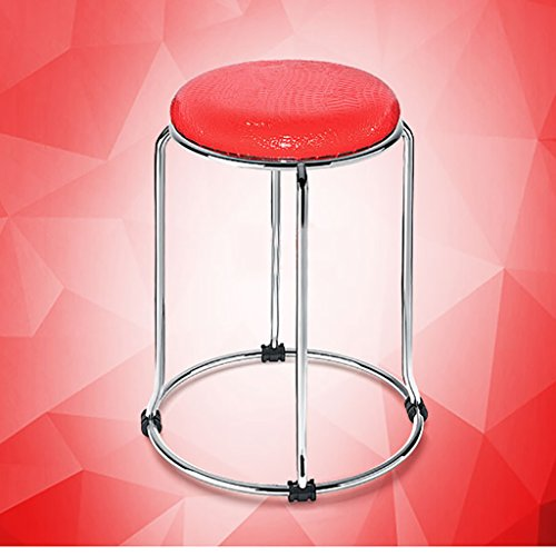 Hocker Mode Ideen Einfache Home Hocker Kleine Hocker Farbe Kissen Metall Klappstuhl Hocker Bankhocker Stühle ( Farbe : F )