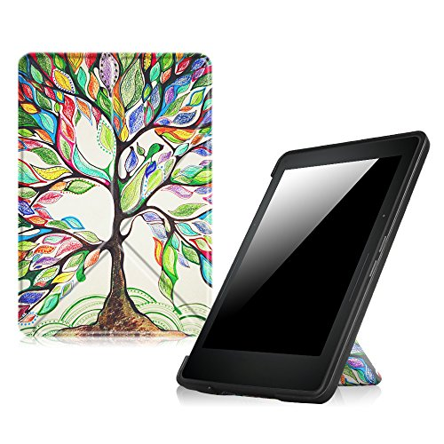 fintie origami case for kindle voyage the thinnest and
