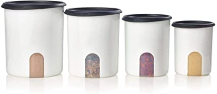 Tupperware One Touch Canister Set