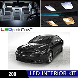 Ledpartsnow 2015 Chrysler 200 Led Interior Lights Accessories Replacement Package