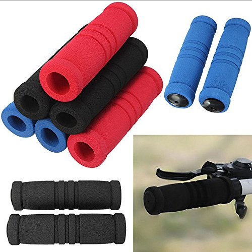 1 Pair Long Handle Bar Grip Cover No-Slip Grap Foam Sponge Bicycle Racing Bike