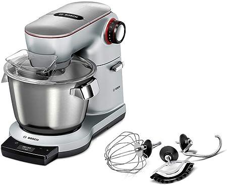 Bosch MUM9AE5S00 OptiMUM Robot de cocina, capacidad de 5,5 litros, 7 velocidades y función turbo, 1500 W, color gris: Amazon.es: Hogar