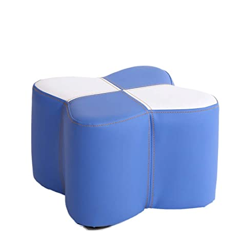 Excellent Amazon Com Chlfsfd Imitation Leather Sofa Stool Small Stool Ibusinesslaw Wood Chair Design Ideas Ibusinesslaworg