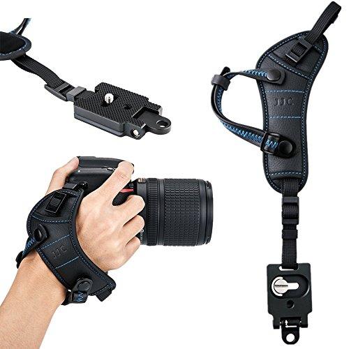 JJC Camera Hand Strap Wrist Strap w/Quick Release Plate for