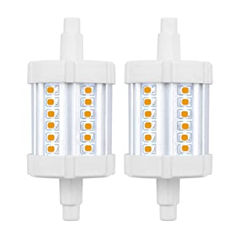 Bonlux No Regulable 5W R7S 78MM LED Bombilla Lineal J78 con 600LM para Lámpara de Pie