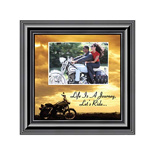 Motorcycle, Harley Davidson, Picture Frame, Landscape, Let's Ride Sky Personalized ()