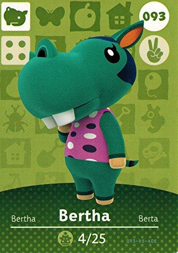 Animal Crossing Happy Designer Amiibo Bertha