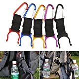 Freedi Water Bottle Buckle Hook Holder Clip Traveling Key Carabiner Camping Hiking Survival Outdoor Travel Tool,1 Piece