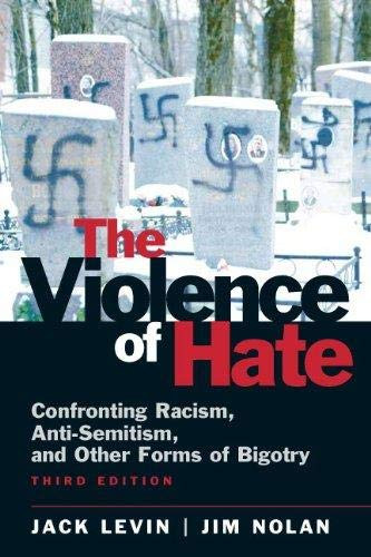 The Violence of Hate By Levin, Jack/ Nolan, Jim