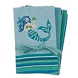 Kay Dee Designs R6399 Mermaid 3Pc Kitchen Towel Set