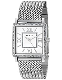 GUESS Women's Quartz Stainless Steel Casual Watch, Color:Silver-Toned (Model: U0826L1)