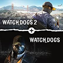 Watch Dogs 1 And 2 Bundle - PS4 [Digital Code]