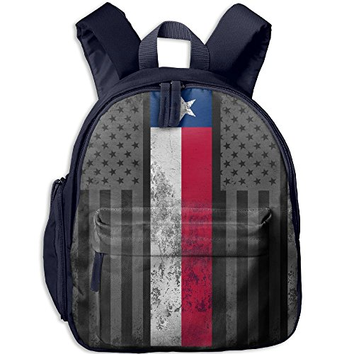 Kalencom Giraffe - Toddler Pre School Backpack Boy&girl's USA Texas State Flag Book Bag