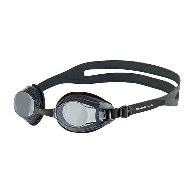 Gafas de natación Miopía para Mujer Hombres - Adulto Espejo de natación  Impermeable Anti Niebla Alta Definición Protección UV Profesional Sin Fugas  ... b41b596a245d