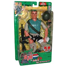 GI JOE vs. Cobra Year 2003 Exclusive Spy Troops Series 11 Inch Tall Soldier Action Figure - Sgt. Airborne with Shoulder Sling, Camo Pants, Rappel Harness, Rope, Helmet, Goggles, M4 Machine Gun and Boots