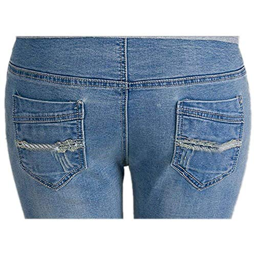 Leggings Maternità Da Gravidanza Con Elastica Pantaloni Slim Fit Jeans Donna Giovane Elasticizzati Hellblau Fascia 5tpdqRw6x