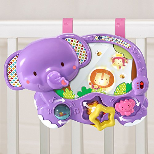 Ocean Wonders Aquarium - VTech Baby Lil' Critters Magical Discovery Mirror, Purple (Amazon Exclusive)