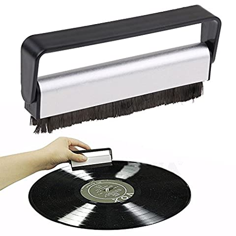 Antistatic Carbon Fiber Vinyl Record Dust Cleaner Brush Turntable Fibre Cleaning CD Brush (The Anderson Tapes Dvd)