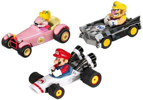 Nintendo DS Mario Kart Action Figures 3-Pack (Mario Kart Figurines)