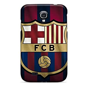 Samsung Galaxy S4 Cie19904fjza Unique Design Trendy Fc Barcelona Skin Best Hard Phone Cover -JonathanMaedel