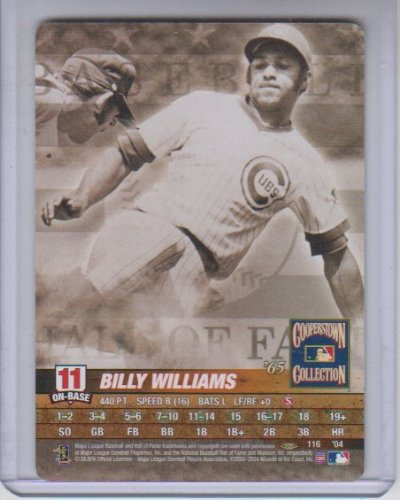 2004 MLB Showdown Cooperstown Collection Billy Williams #116 by MLB Showdown