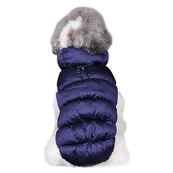 Havanadd Abrigos para Perros Otoño e Invierno Forrado cálido Perro Chaqueta para Cachorro Invierno Clima frío