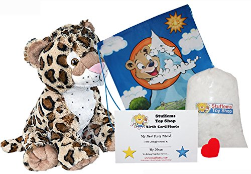 Make Your Own Stuffed Animal Charlie the Cheetah 16