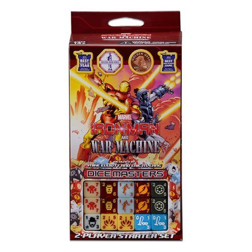 WizKids Dice Masters: Marvel Comics Iron Man and War Machine Starter Set