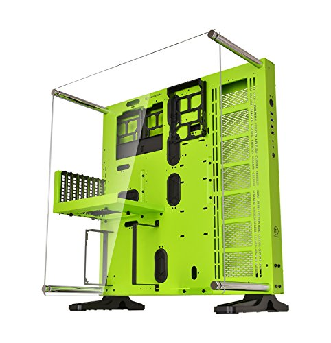Thermaltake Core P5 Green Edition ATX Open Frame Panoramic Viewing Tt LCS Certified Gaming Computer Case CA-1E7-00M8WN-00