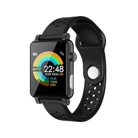 Amazon.com: Peodelk B71 1.3 Pulgadas Reloj Inteligente ECG+ ...
