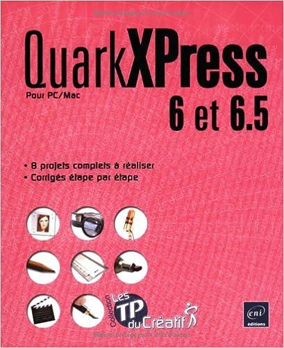 Livres gratuits QuarkXPress 6 et 6.5 pour PC/Mac epub pdf