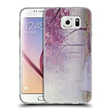 Official Graham Gercken Misty Pink 2 Trees Soft Gel Case for Samsung Galaxy Note8 / Note 8