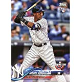 2018 Topps Opening Day #137 Miguel Andujar New York Yankees Rookie Baseball Card