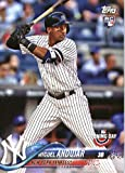 #4: 2018 Topps Opening Day #137 Miguel Andujar New York Yankees Rookie Baseball Card