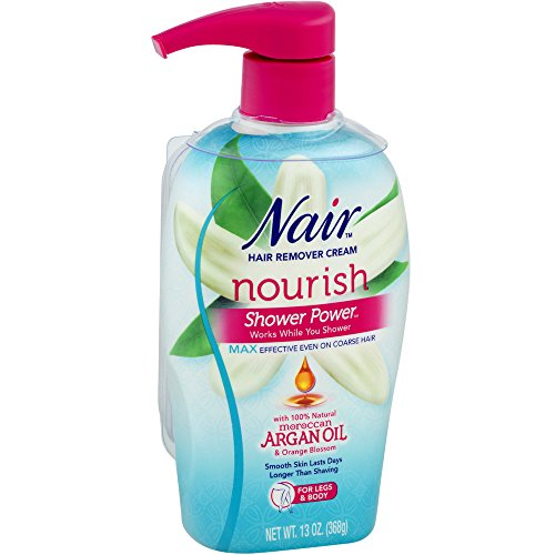 Nair Moroccan Argan Oil Shower Power Max 13 oz (Pack of 4)