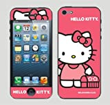 New Arrival Body Decal Hello Kitty Screen Protector Skin Sticker for Apple Iphone 5 5G