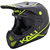 Kali Protectives Shiva 2.0 Full-Face Helmet Dual Matte Black/Lime, M For Sale